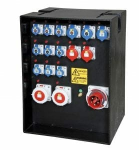 125A Power Distribution Box