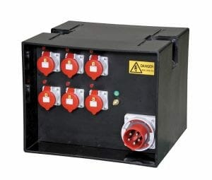 125A Temporary Power Distribution Box
